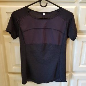 "Lululemon Black ""Dri-fit"" Workout Top"
